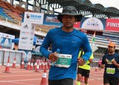Runner running a 48 hour marathon