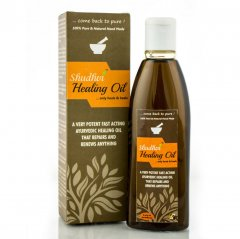 Photograph of hair oil