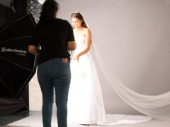 Photoshoot for Amabelle Bridals