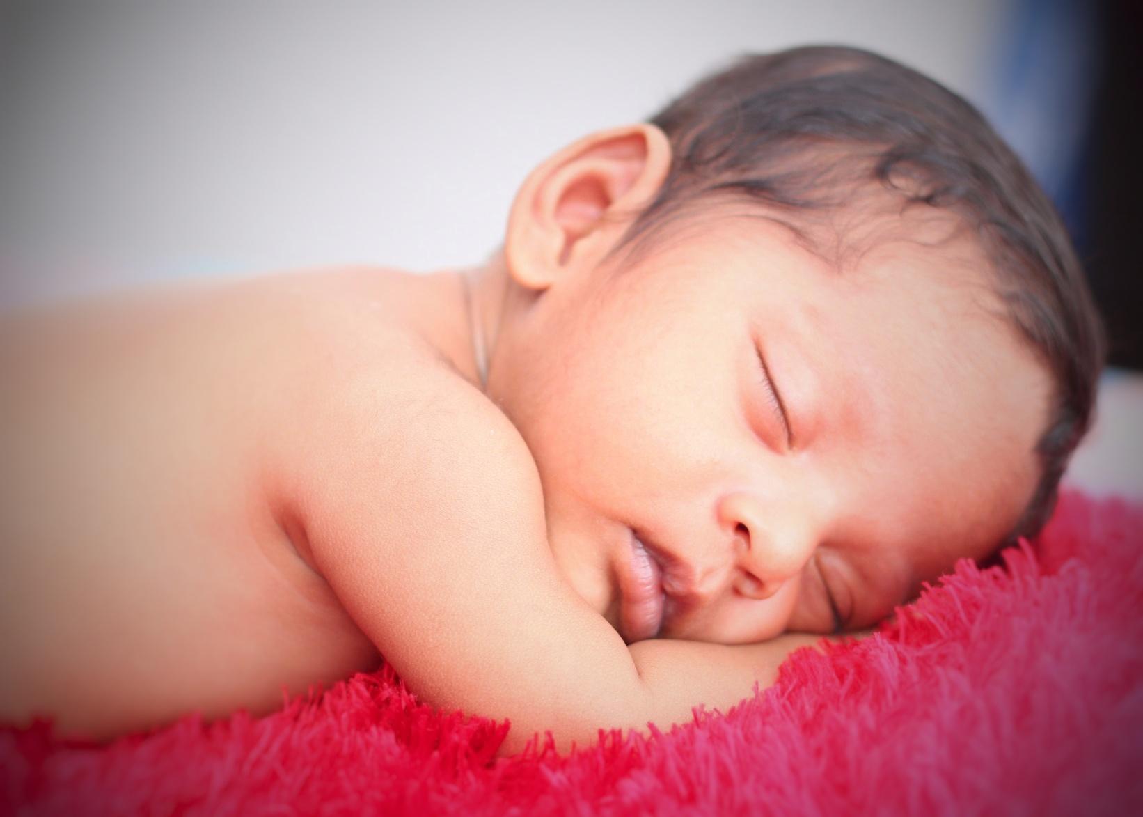 A soft Baby